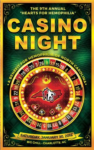 Hearts for hemophilia casino night 2016 hemophilia of for 90 degrees salon charlotte