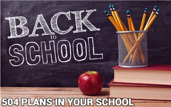 Back to School: 504 Plans
