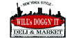 Will's Doggin' It Deli & Market - In-kind Sponsor